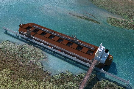 National Ports and thyssenkrupp enhancing bulk carrier operations in shallow waters