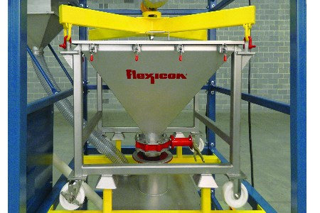 Flexicon release new IBC discharger for low headroom areas