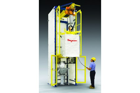 New enclosed bulk bag discharger released
