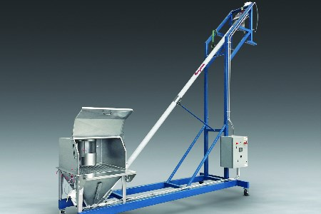 New mobile flexible screw conveyor from Flexicon