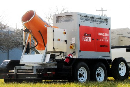 BossTek releases new mobile dust suppression system