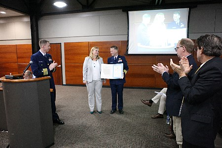 Port of Corpus Christi's Sarah Garza commended for her services