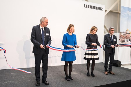 New agency opened by Liebherr in southeast France