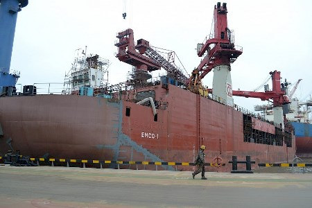 Emco-1 barge upgrade completed