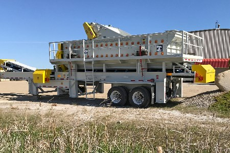 Haver & Boecker delivers Tyler L-Class vibrating screen