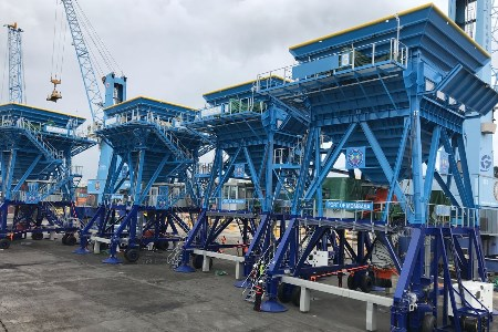 SAMSON provides eco hoppers to Port of Mombasa