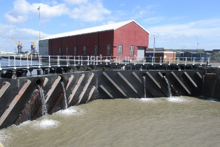 ABP completes lock gate refurbishments at Port of Newport