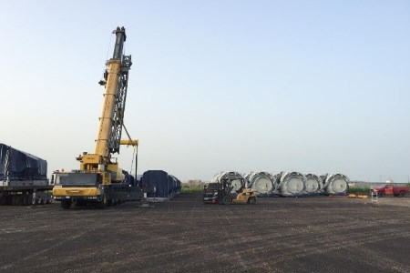 Laydown capacity grows at Port of Corpus Christi