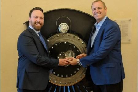 Rep. Denham awarded Railroad Achievement Award