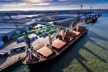Peel Ports London Medway invests in grain facilities