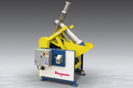 Flexicon reveals new pail dumper for dense bulk materials