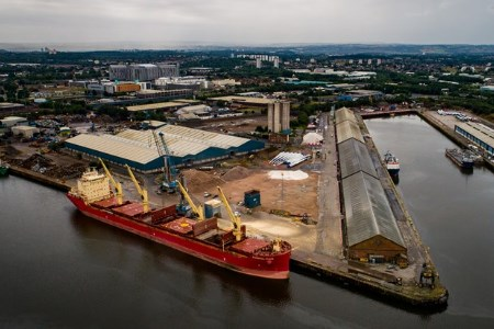 Peel Ports support ADM Arkady with extensive programme of animal feed imports
