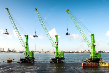 Konecranes supplies mobile harbour crane to Goeyvaerts
