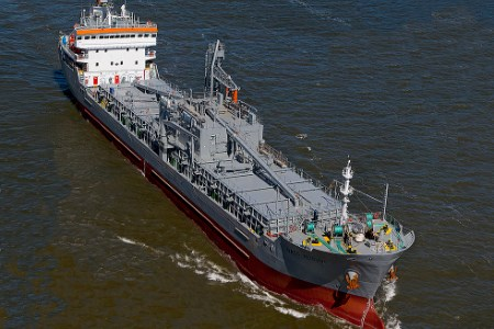 NACC Alicudi cement carrier equipped with green cargo system