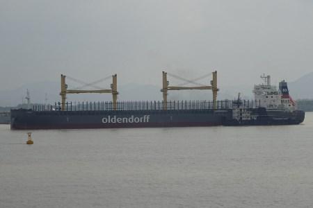 Oldendorff provides update on Japanese bridge collision