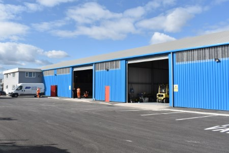 New ABP engineering workshop at Port of Cardiff