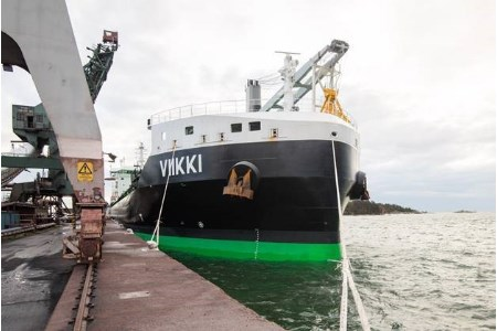 m/s Viikki arrives in Sweden