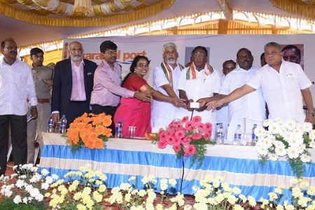 Karaikal Port inaugurates mechanised bulk cargo handling system