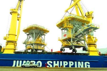 Bedeschi eco-hoppers shipped to Houston Port