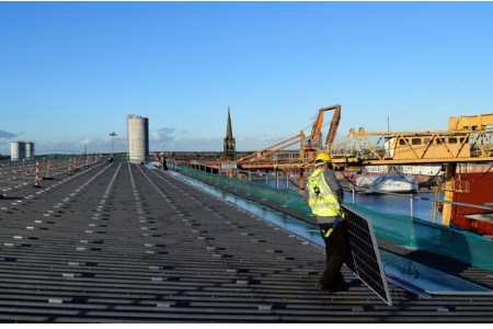 Port of Goole to power site through solar generation