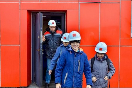 Students invited to tour Shakhtersk port