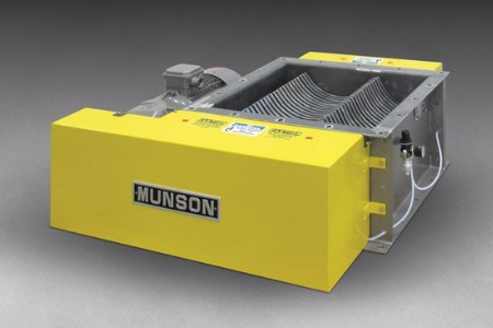 Munson Machinery releases new abrasion-resistant lump breaker