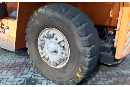 Magna tyres used again at Port of Djibouti