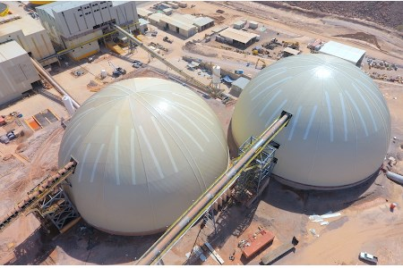 Geometrica constructs twin domes in Mexico