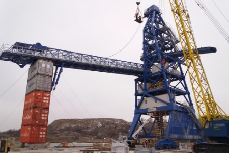 New 2000 tph shiploader for MV Cargo and Cargill