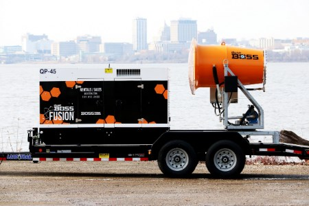 BossTek revamps lineup of self-powered dust suppression units