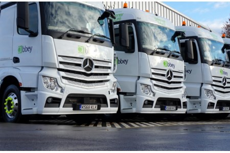 Abbey Logistics begins new bulk flour deliveries