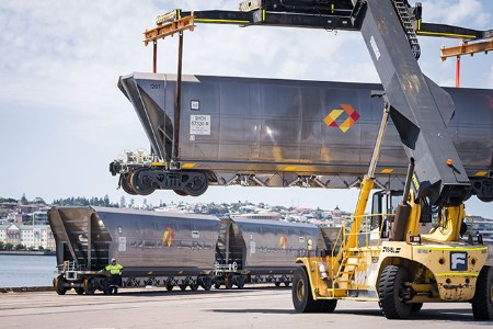 Aurizon supplies new wagons to Port of Newcastle for coal exports