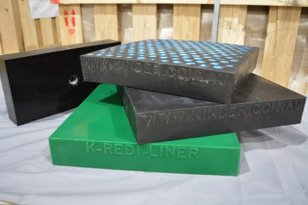 Kinder liners provide highest standards in chute preservation and wear protection