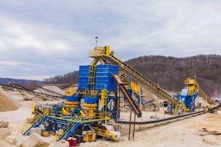Pattison Sand's new aggregates plant opens