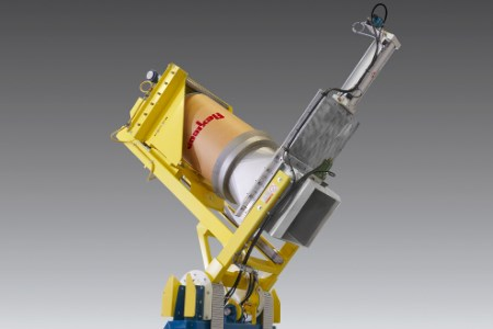 Flexicon introduces dust-tight drum dumper for difficult materials