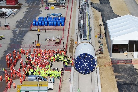 Sirius Minerals' first tunnel boring machine launched
