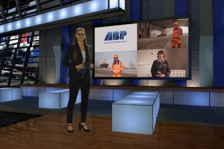 ABP Humber keeps employees well informed with new television screens