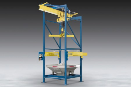 New Flexicon discharger pierces single-use bulk bags, cutting cycle times