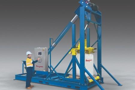 Flexicon reveals ultra-heavy-duty bulk bag filler with integral conveyor