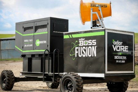 BossTek develops new autonomous mobile odour control system
