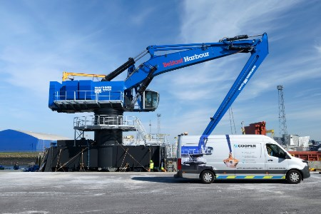 Belfast Harbour Commissioners takes delivery of Mantsinen 300M