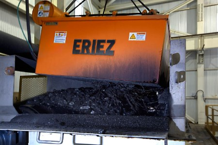 Eriez expands express shipping programme for suspended electromagnets