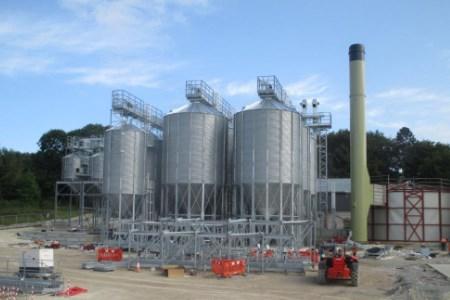 Silos installation for Muntons, England