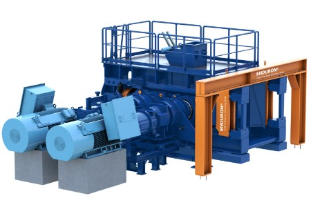 High pressure grinding rolls provide mines with energy savings