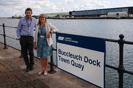 Port of Barrow welcomes Borough Council Executive Director for port tour