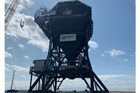 Port of Rosyth installs new eco hopper for commissioning