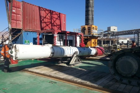 CIScompletes pile-driving operation to constructphosphate export terminal in Jordan