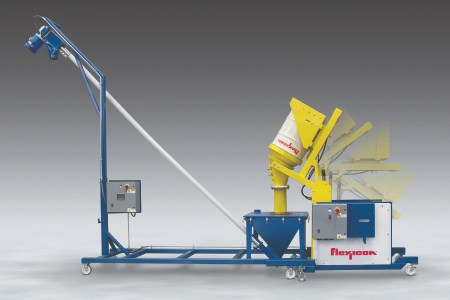 New mobile tipper conveyor system allows dust-free dumping