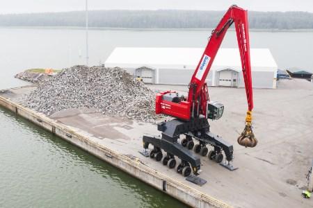 Mantsinen launches new material handling solution for ports