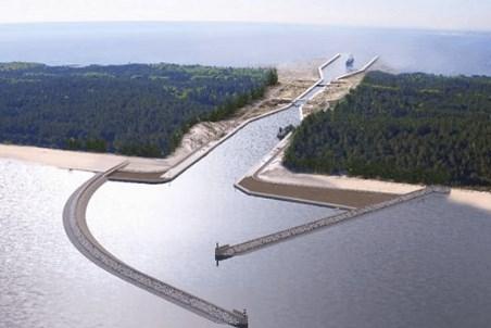 Major marine infrastructure work in Poland